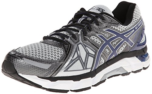 ASICS Men's Gel-Fortify Running Shoe,Lightning/New Navy/Charcoal,9 4E US