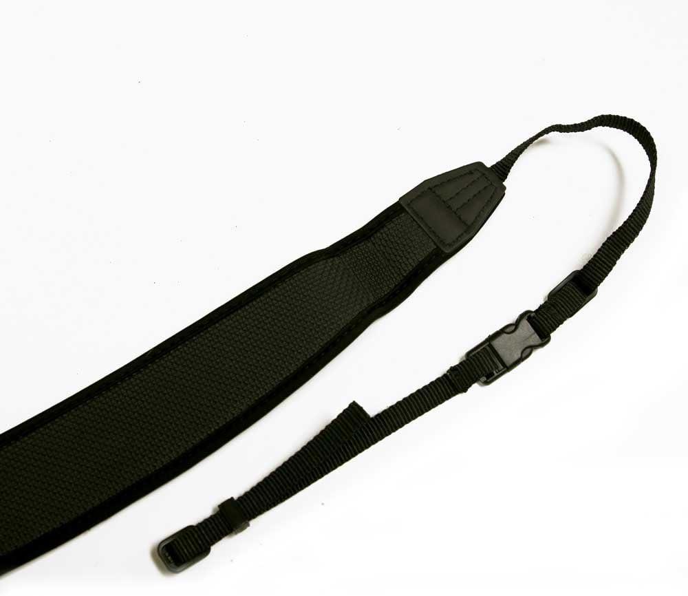 Promaster Contour Camera Strap BLACK Heavy duty neoprene w// Quick Release #6548