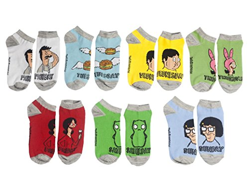 Ripple Junction Bob's Burgers Novelty Socks