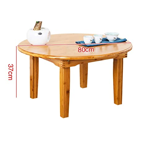 Mesita pequeña Mesa de bambú de 37 cm de Altura, Mesa de ...
