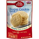 Betty Crocker Cookie Mix, Snack Size Sugar, 6.25 Ounce (Pack of 9)