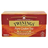 Twinings Speciality - Pure Ceylon Tea - Black Tea from The Best Sri Lankan Plantations - Soft and Refined Flavor - to Drink All Day, Better if in The Afternoon - Delicious Also Cold (50 Bags)
