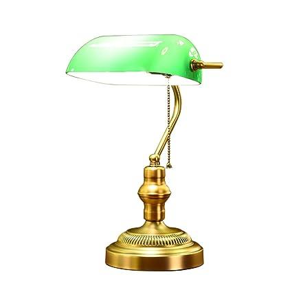 Lámpara de Mesa Home Experience Vintage Americana - Pantalla ...