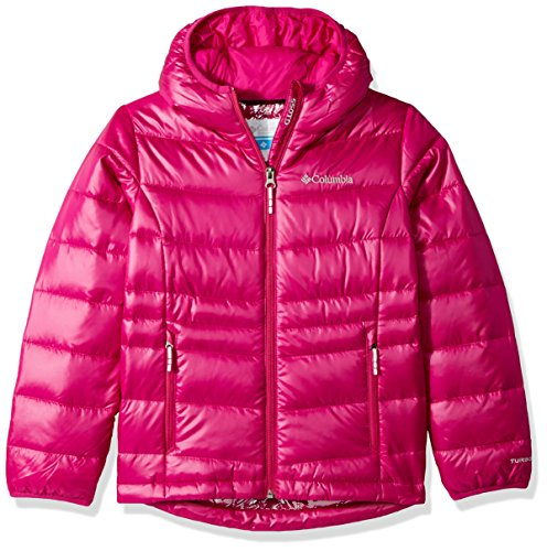 Hooded Gold Deep TurboDown Girls Blush 550 Columbia Jacket Down q1ZFvnRw