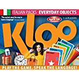 KLOO Learn to Speak Italian Games - Everyday Objects - Pack 4 (Double Deck)