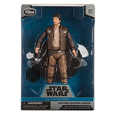 Star Wars Captain Cassian Andor Elite Series Die Cast Action Figure - 6 1/2 Inch - Rogue One: A Star Wars Story