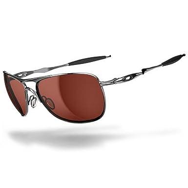 Oakley Herren Ti Crosshair 601402 61 Sonnenbrille, Grau (Gray/Black Iridium Polarized)