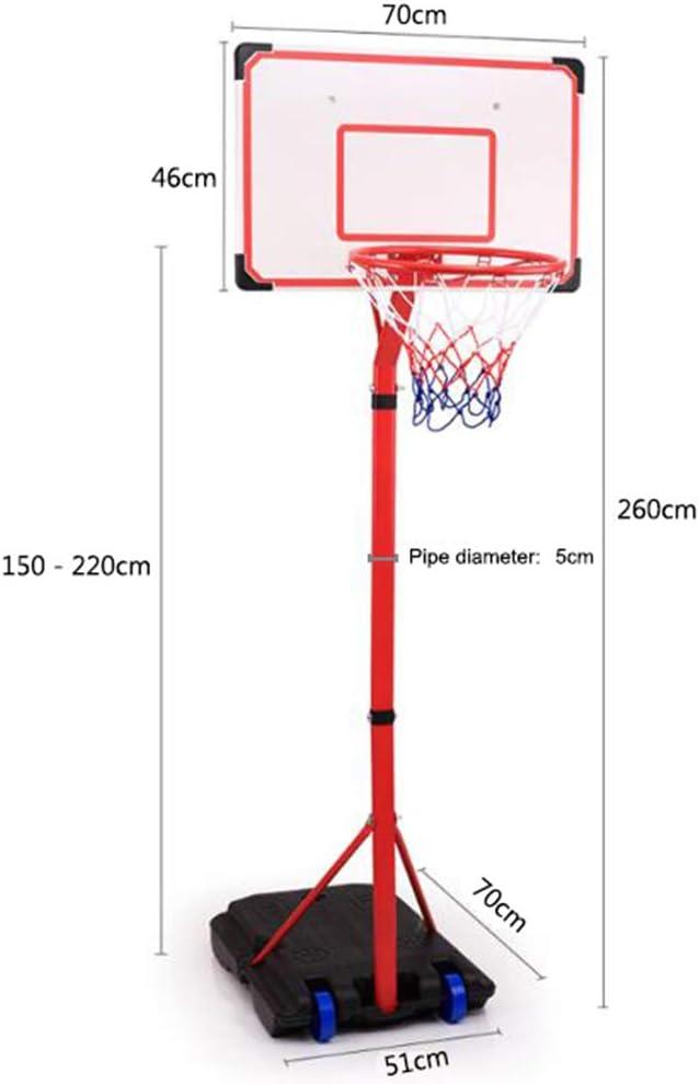 T&P Sistema De Aro De Baloncesto Ajustable En Altura, Canasta De ...