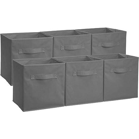 Caja con tapa, caja de plástico, caja con tapa plegable de 3 pieza Lino
