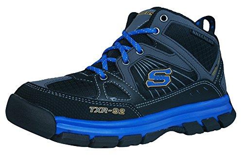 Skechers Challengerz Boys Hi Top sneakers - Walking Boots-Black-2