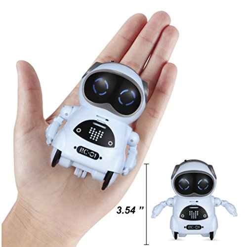 0144ad2042d3 Haite Mini Robot, Pocket Robot for kids with Interactive Dialogue ...