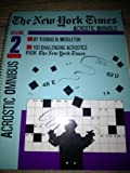 The New York Times Acrostic Puzzle Omnibus, Thomas H. Middleton, 0812919947