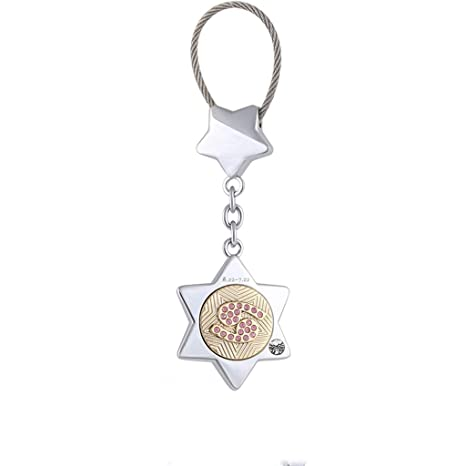 Amazon.com  CJH Couple Keychain Women s Cute Car Key Chain Ring ... 533e8668ea