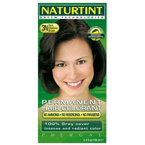 (4 PACK) - Naturtint - Hair Dye - 3N Dark Chestnut Brown   135ml   4 PACK BUNDLE -  NTINT-3N-4Pack