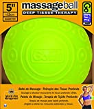 GoFit Massage Ball 5in by Deep Muscle Tissue Relief with Trigger Point, Targeting Knots & Sore Muslces