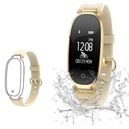 Fitness Tracker, Women Sport Tracker Smart Watch Band Bracelet, Heart Rate Monitor Smart Bracelet,Women Swimming Waterproof Wristband Watch with Health Sleep Activity Tracker Pedometer for Smart Phone (Best Smartphone For Fitness)