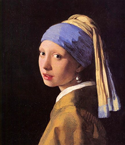 The Museum Outlet - The girl with the pearl earring by Vermeer - Canvas Print Online Buy (30 X 40 Inch) ()