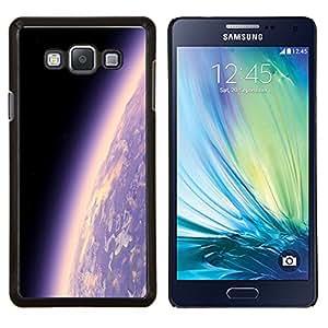 YiPhone /// Prima de resorte delgada de la cubierta del caso de Shell Armor - Tierra del planeta Ambiente púrpura Universo Cosmos - Samsung Galaxy A7 A7000