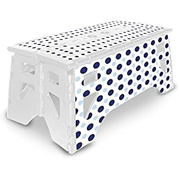 Amazon Com Expace Folding Step Stool 13 Inch Wide Non