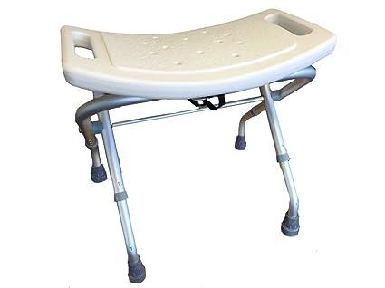 Sedile per doccia pieghevole sgabello sedia da doccia altezza