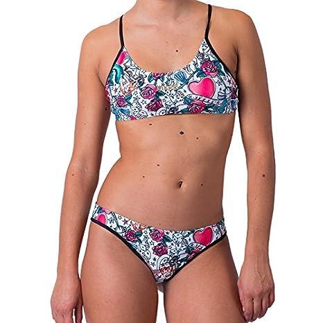 55cb32c9aeef Jaked Costume Bikini Donna R R Fenice  Amazon.it  Sport e tempo libero