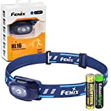 Fenix HL16 70 Lumen LED Headlamp for camping/hiking kids/children with EdisonBright AA Alkaline battery (Blue)