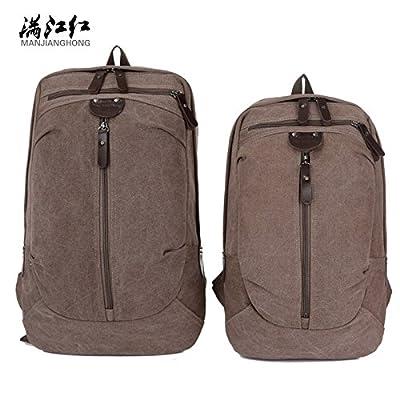 hongrun Sac à bandoulière double sac sacs de voyage étudiant, hommes et femmes ensemble marée