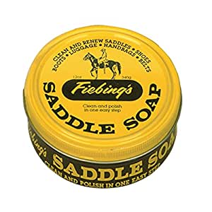 Fiebing's Yellow Saddle Soap, 12 Oz.