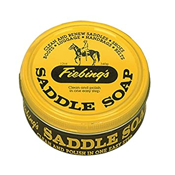 Astonishing Fiebings Yellow Saddle Soap 12 Ounce Cleans Softens And Preserves Leather Inzonedesignstudio Interior Chair Design Inzonedesignstudiocom
