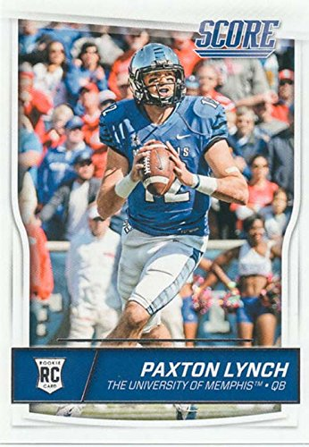 Paxton Lynch Rookie card plus others Denver Broncos 2016 Score EXCLUSIVE Factory Sealed Team Set with Peyton Manning Von Miller