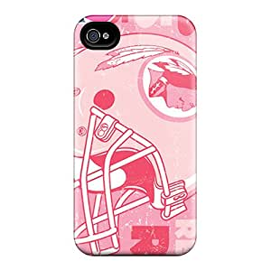 Scratch Protection Cell-phone Hard Cover For Iphone 6 With Provide Private Custom Fashion Washington Redskins Pattern JonathanMaedel