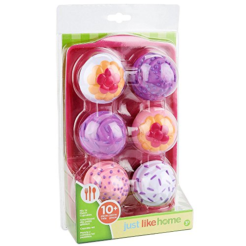 Just Pretend Doll (Just Like Home Mix N Match Cupcakes Set)