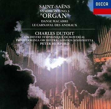 サン=サーンス:交響曲第3番(オルガン)/動物の謝肉祭、他