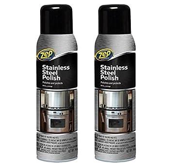 Amazon.com: Zep, 2 unidades de limpiador de acero inoxidable ...