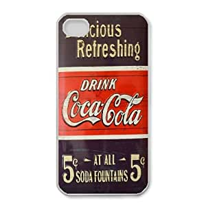 iphone4 4s Phone Case White Coca Cola ZIC455330