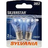 SYLVANIA 2057 SilverStar High Performance Miniature Bulb, (Contains 2 Bulbs)