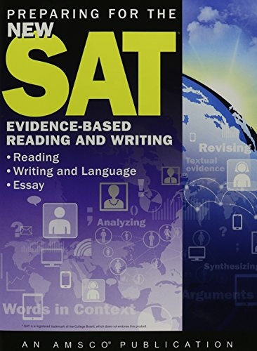 Preparing for the New SAT: Evidence-Based Reading and Writing - Student Edition Softcover