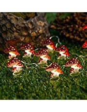 Jcfyoo LED String Lights, Fairy String Lights 10FT 30 LED Battery Operated Fun String Lights for Kids Bedroom Party Desk Wedding Christmas Decorations