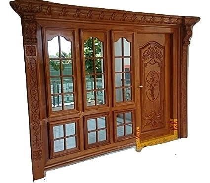 Suhel Handicraft Hand Carved Designer Main Door For Your