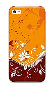 Cute Tpu Natalie Sanders Pattern Color Vectors Case Cover For Iphone 5c