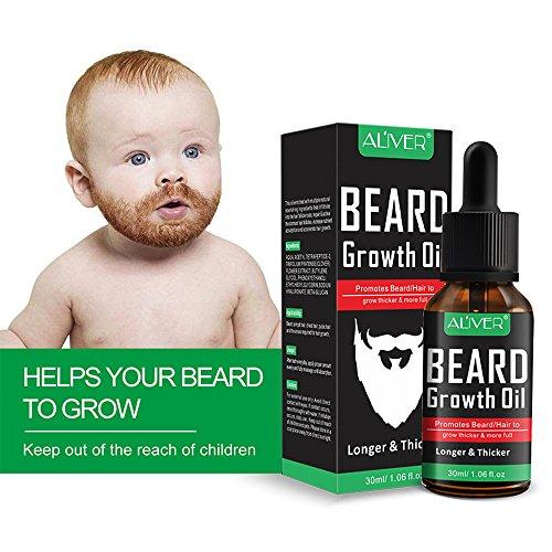 - Newkelly Enhance Facial Whiskers Nutrition Moustache Men Liquid Beard Growth Fast