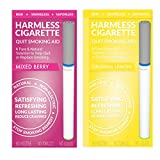 Harmless Cigarette | New Smoking Cessation Product To Help You Quit Smoking Easy & Naturally. Now Better Than Patches, Gum, Pills, Spray, Lozenges, Tea & Magnet. (2 Pack, Original Lemon / Mixed Berry)