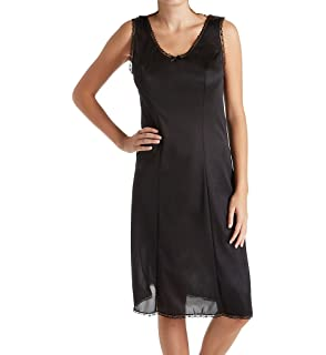 de4399452f1 Amazon.com  Shadowline Stretch Lace Strap Full Slip (27014)  Clothing