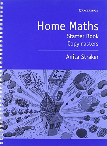 Home Maths Starter book: photocopiable masters ()