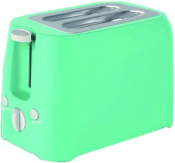 Toaster 2 Slice,Stainless Steel Retro Toaster with Timer, Wide Slot, Defrost/Reheat/Cancel Fuction, Removable Crumb Tray,Extra Wide Slots Removable Crumb Trays Compact Toaster, Auto Pop Up