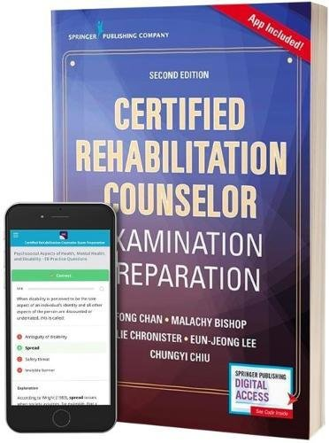 Certified Rehabilitation Counselor Examination Preparation, Second Edition (Book + Free App)
