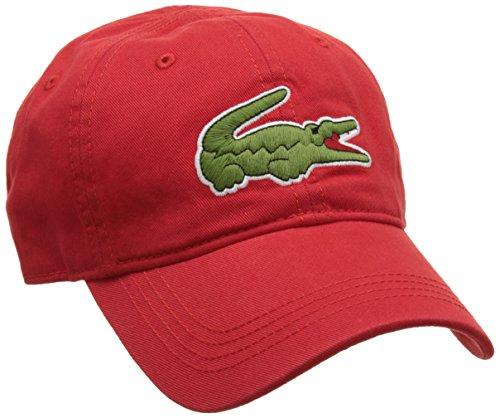 Lacoste, Gorra de béisbol para Hombre Rojo (Rouge)