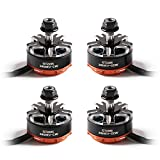 4pcs Gemfan GT2205 2450KV Brushless Motor 2-4S 2CW 2CCW RC Brushless Motor for FPV Racing Quadcopter Drone Motor QAV-X QAV-H 210 220 230 Frame etc
