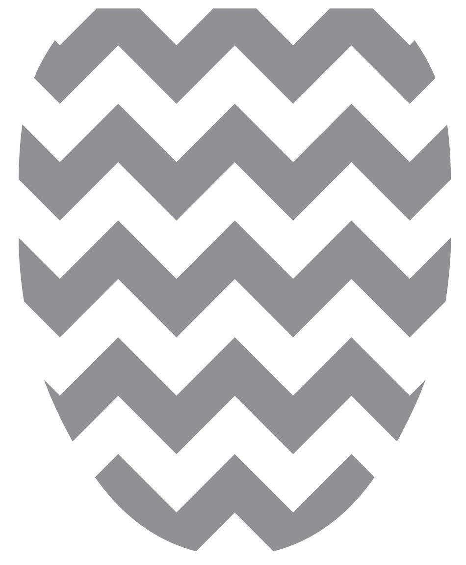 Toilet Tattoos, Toilet Seat Cover Decal, Grey Chevron, Size Elongated 671297109808