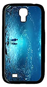 Brian114 Samsung Galaxy S4 Case, S4 Case - Cool Black Back Hard Case for Samsung Galaxy S4 I9500 Be With You Design Hard Snap-On Cover for Samsung Galaxy S4 I9500